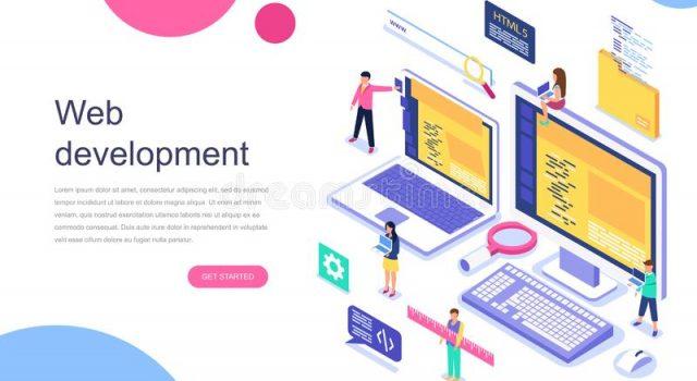 modern-flat-design-isometric-concept-web-development-banner-website-landing-page-template-teamwork-project-agency-new-164646613